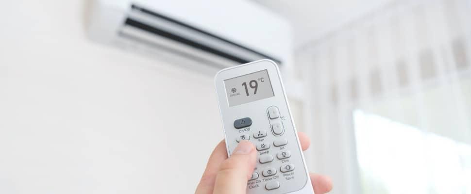 télécommande d'un climatiseur