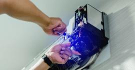 réparation d'un climatiseur