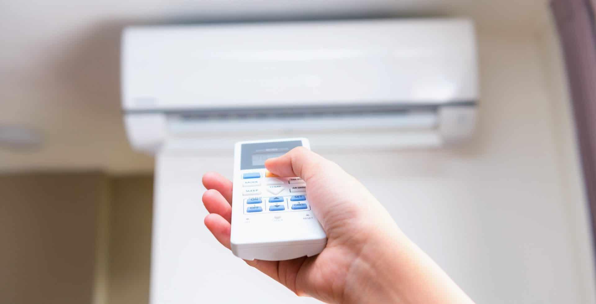 climatiseur reversible télécommandé