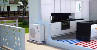 Mistsubishi Electric Ecodan hydrobox